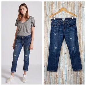 Current Elliott 25 Loved Destroy Boyfriend Jeans